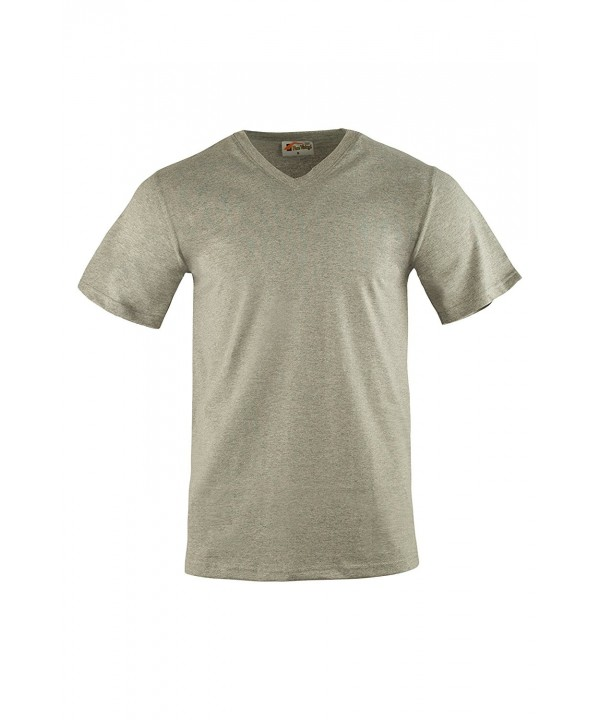V Neck T Shirts XX Large Available Heather