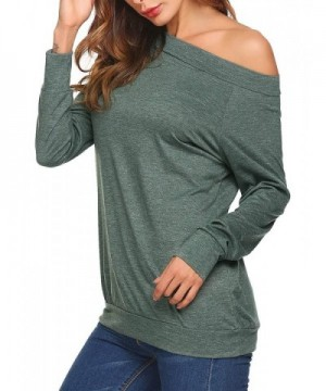 f5bac5e9 Teewanna Sleeves Shoulder Blouse T Shirts; Cheap Real Women's Blouses; Women's  Button-Down Shirts On ...