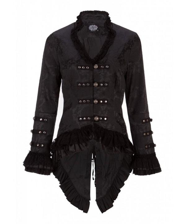 Victorian Brocade Blazer Jacket Embellishments