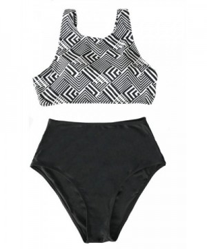 Cupshe Fashion Abstract Waisted Swimwear