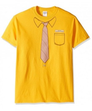 T Line Graphic T Shirt Mustard X Large