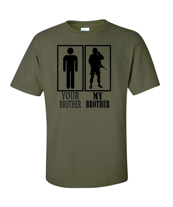 Your Brother Military Short Sleeve