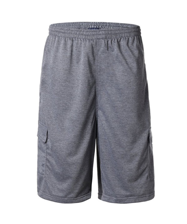 Greatrees Elastic Fleece Shorts Charcoal
