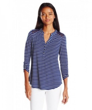 Self Esteem Juniors Stripe Henley