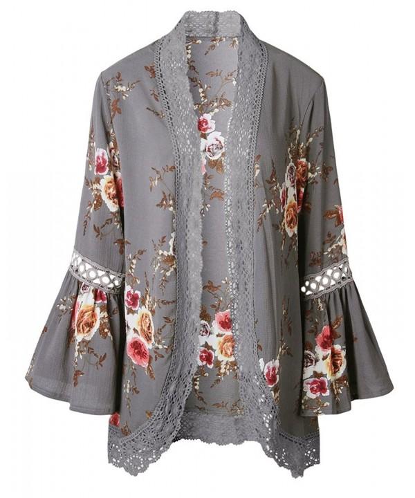 Payeel Cardigans Hollow Sleeve Kimono