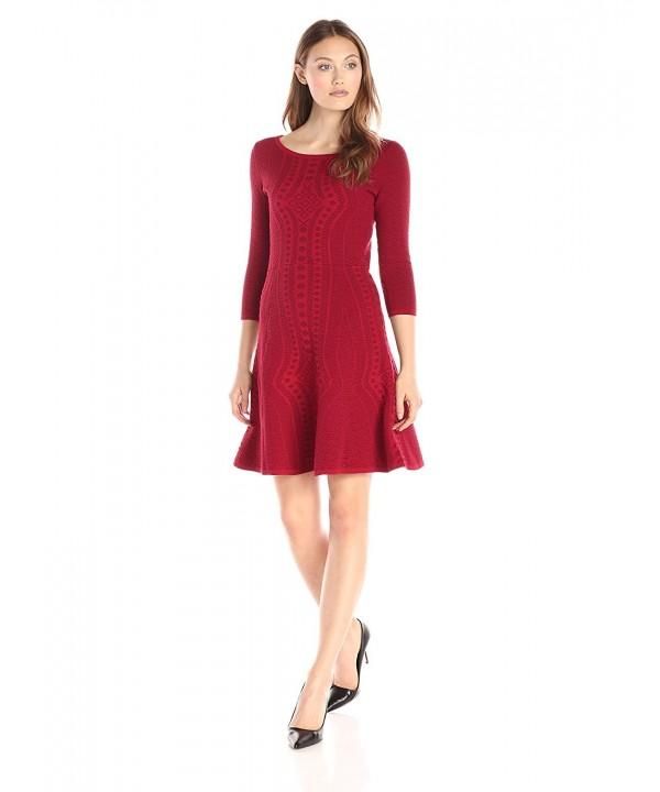 Gabby Skye Womens Textured Sweater