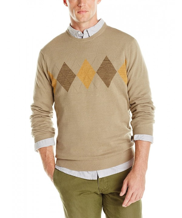 Van Heusen Argyle Sweater X Large