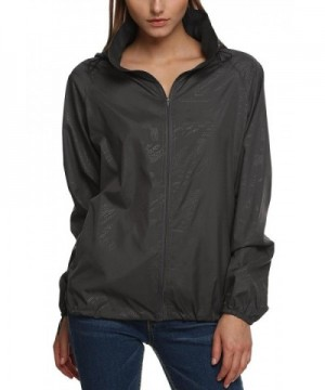 Bifast Womens Outdoor Packable Jacket_GR_XL