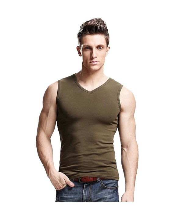 XDIAN Mens Shirt Small Green
