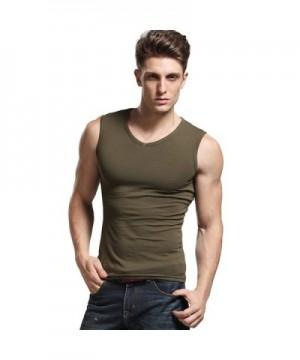 Popular Men's Tank Shirts Outlet Online