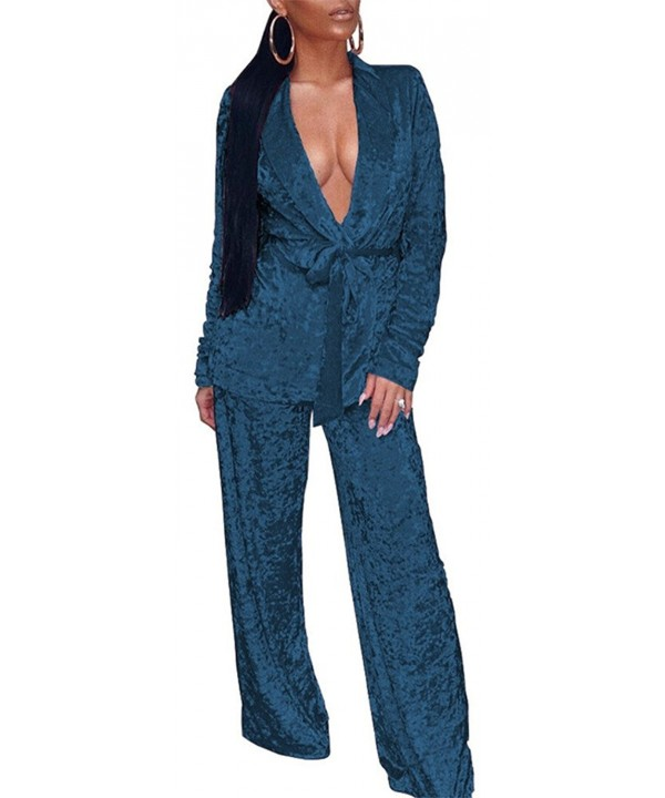 Vamvie Womens Sleeves Pajamas Jumpsuit