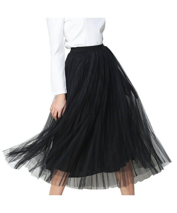 ANJERAI SUGAR Womens Tulle Skirt