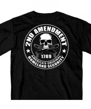 Hot Leathers Amendment Printed T Shirt