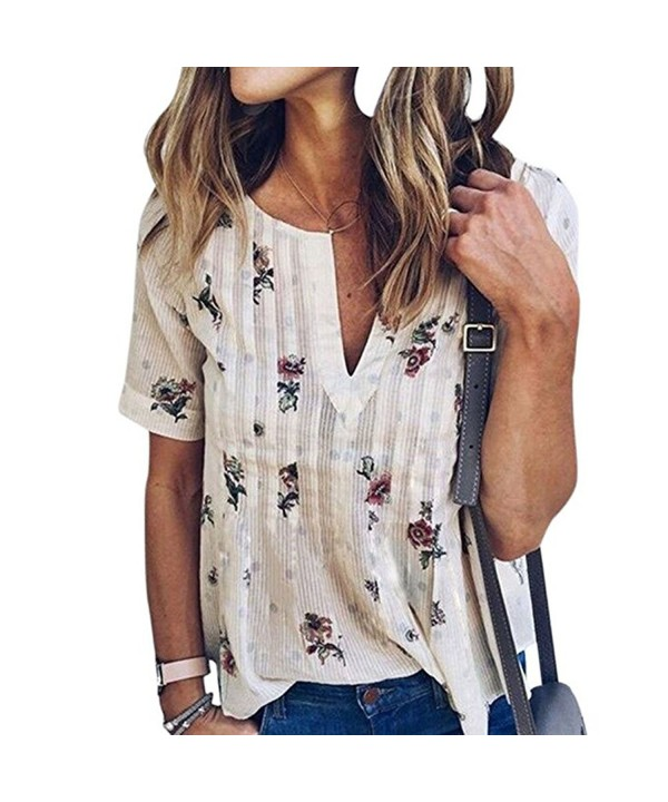 Sibylla Womens Sleeve Floral T shirt