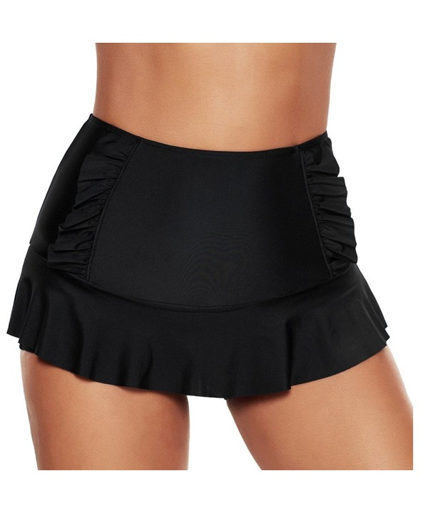 ninovino Womens Shorts Shirred Bottom