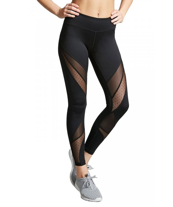 Dafina Specialties Womens Cutout Leggings