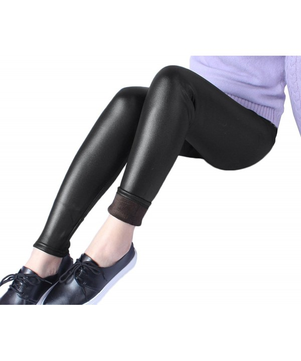 Womens Liquid Fleece Leggings Skinny
