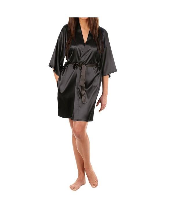 LAPAYA Womens Kimono Lingerie Sleepwear