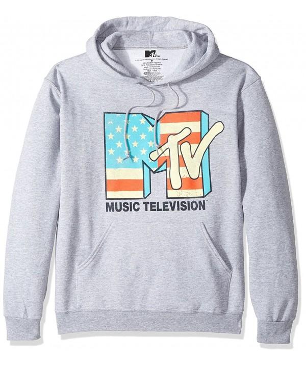 MTV Mens Logo Hoodie Sport