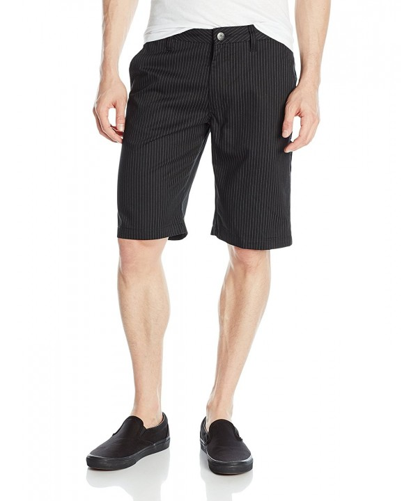 Fox Essex Pinstripe Short Black