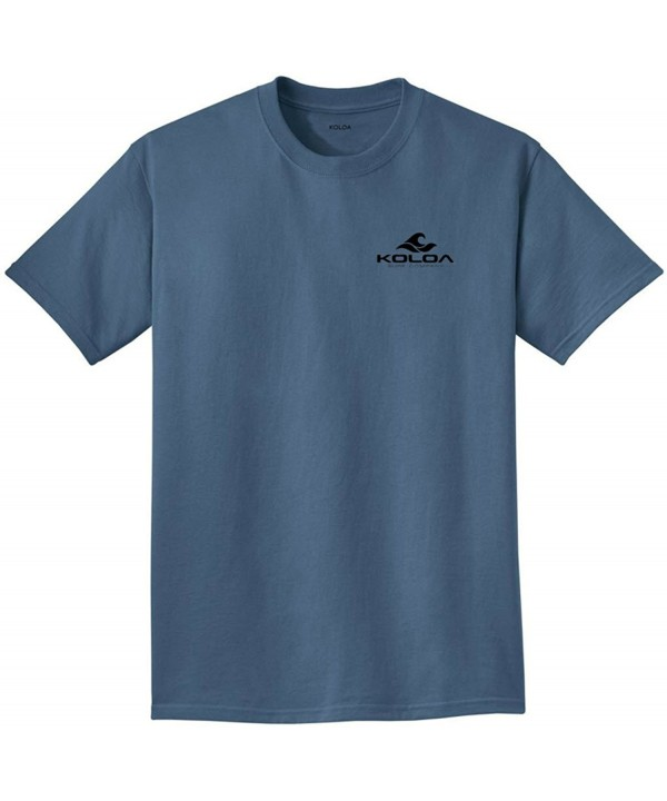 Koloa Surf Side Pigment Dyed T Shirt Blue Moon