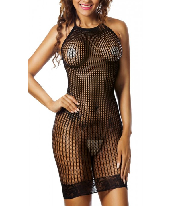 Freemale Lingerie Fishnet Babydoll Stretch