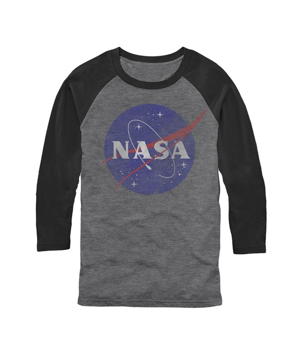 NASA Mens Arctic black Baseball