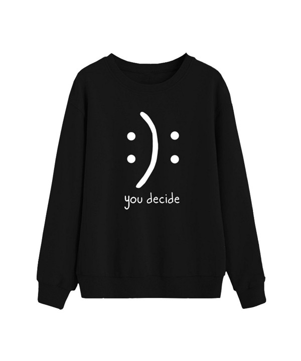 BLACKMYTH Sweaters Graphic Pullover Sweatshirts