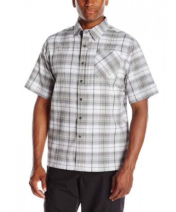 BLACKHAWK Plaid Short Sleeve X Large