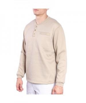 Discount Men's Henley Shirts Outlet