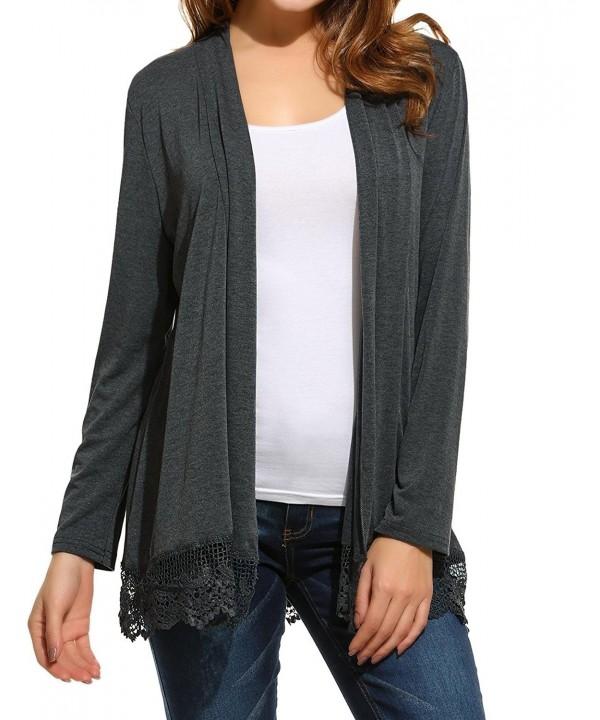 Elesol Elegant Patchwork Cardigan Sweater