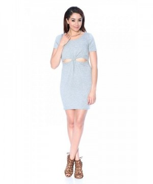 Khanomak Short Sleeve Dress Heather