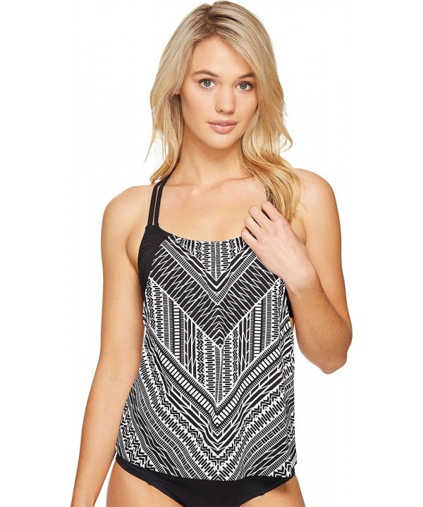 Jantzen Womens Crossing Layered Tankini