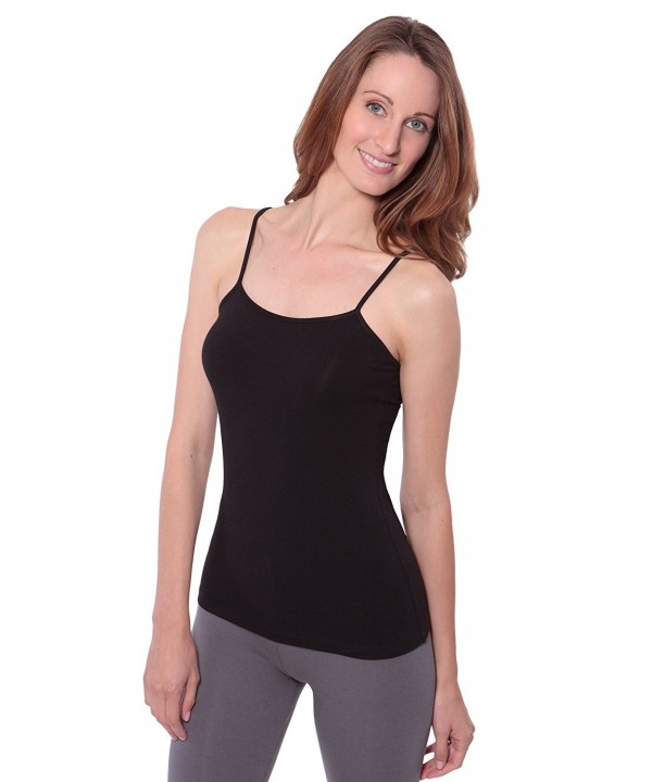 Womens Camisole Tank Tops WB0301 BLK L