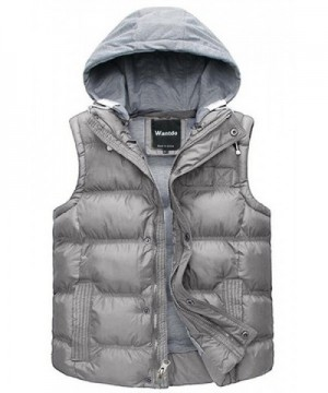 Wantdo Winter Removable Quilted Sleeveless