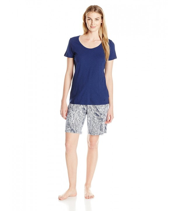 Nautica Womens Bermuda Pajama Medium