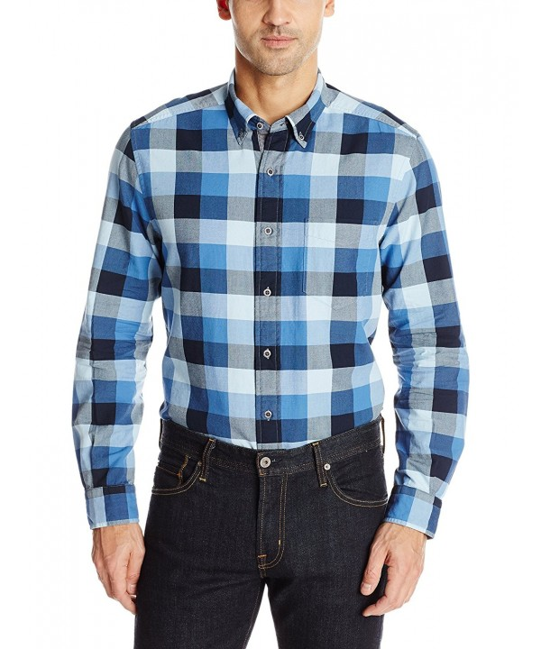Nautica Buffalo Plaid Oxford Shirt