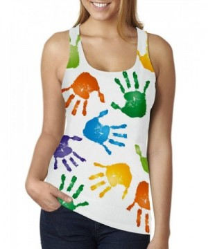 RAISEVERN Colorful Graffiti Printed Racerback