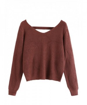 2018 New Women's Pullover Sweaters