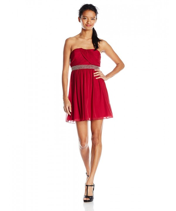Byer Juniors Strapless Sweetheart