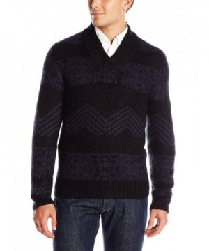 AXIST Jacquard Crossover Sweater Eclipse