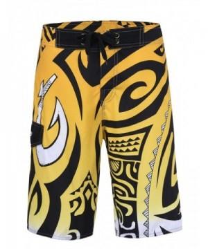 Unitop Bathing Shorts Linning Yellow