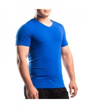 MUSCLE ALIVE Shirts V Neck Athletic