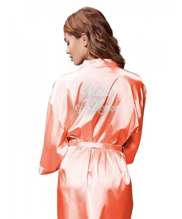Turquaz Linen Kimono Rhinestone Medium