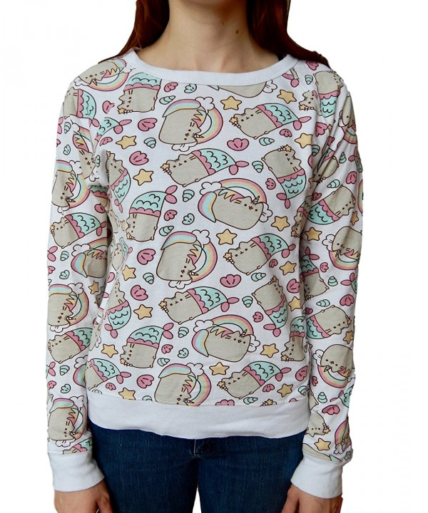 Pusheen Rainbows Unicorns Mermaids Sweatshirt
