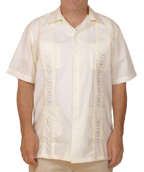 Squish Cuban Style Guayabera Shirt