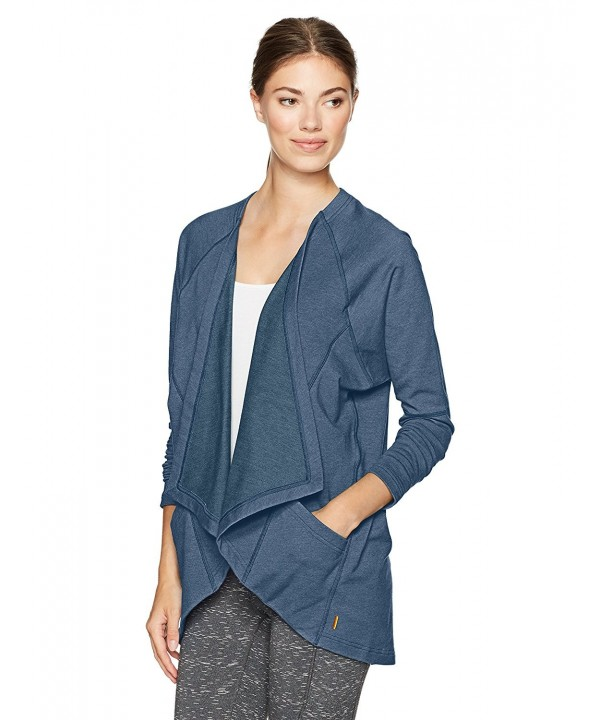 Lucy Womens Hearted Lagoon Heather