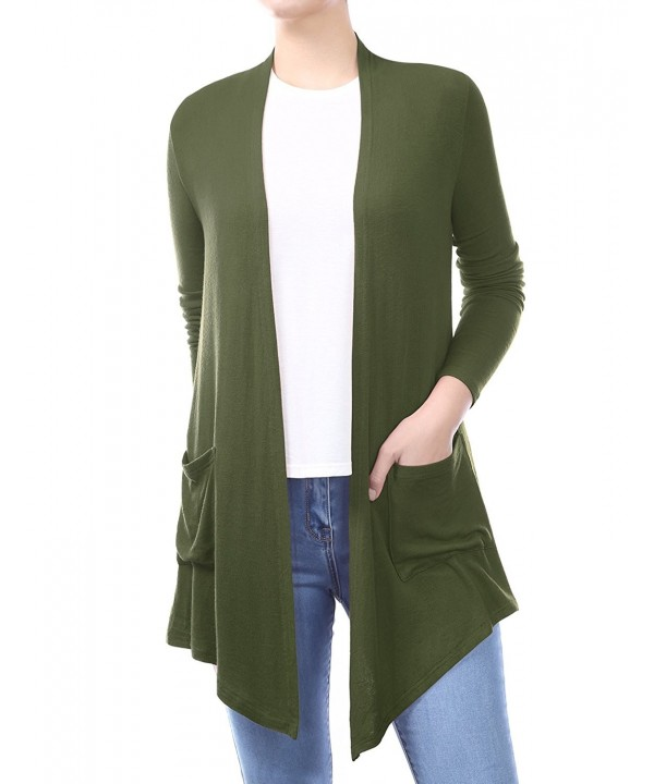 BIADANI Pockets Sweater Cardigan XXX Large