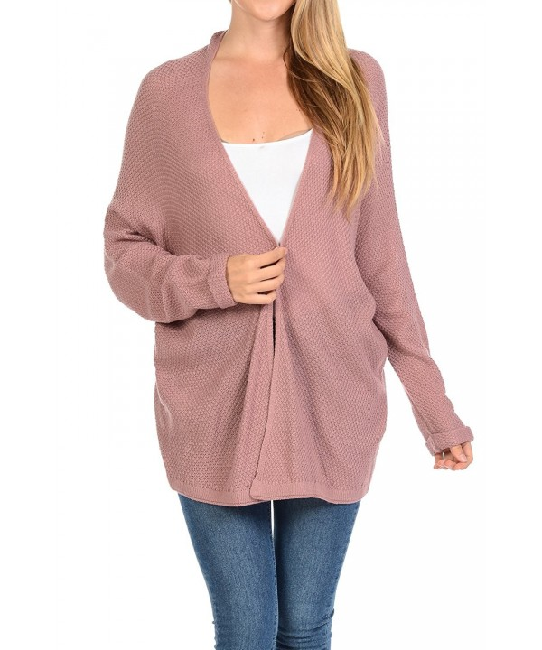 Aulin Collection Womens Cardigan Sweater