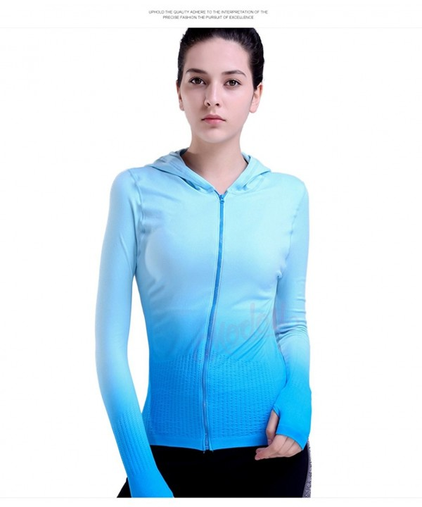 BVTT Womens Jacket Zipper Running